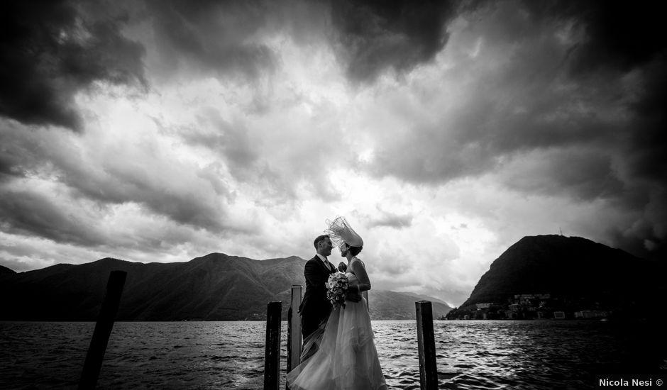 Il matrimonio di William e Nausikaa a Luino, Varese