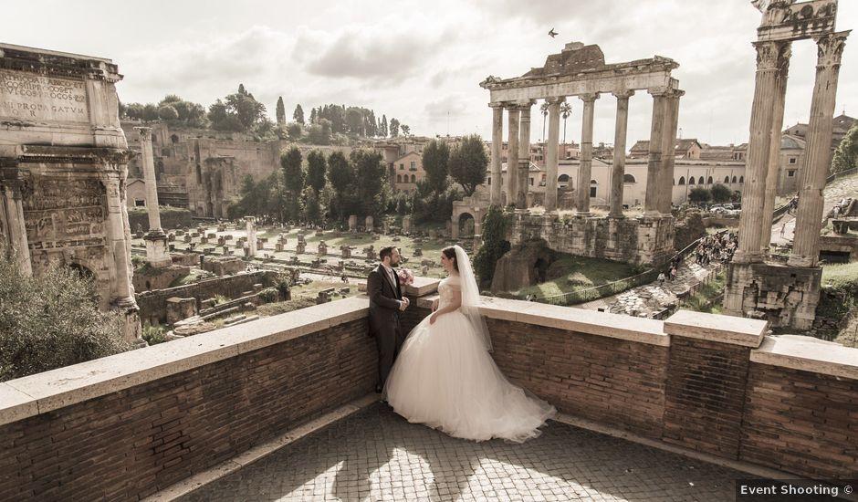 Il matrimonio di Simone e Francesca a Roma, Roma