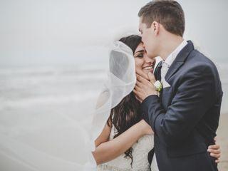 Le nozze di Giorgia e Adrian