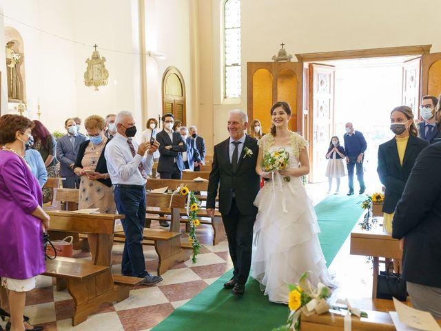 Il matrimonio di Andrea Valerio e Silvia a Due Carrare, Padova 28