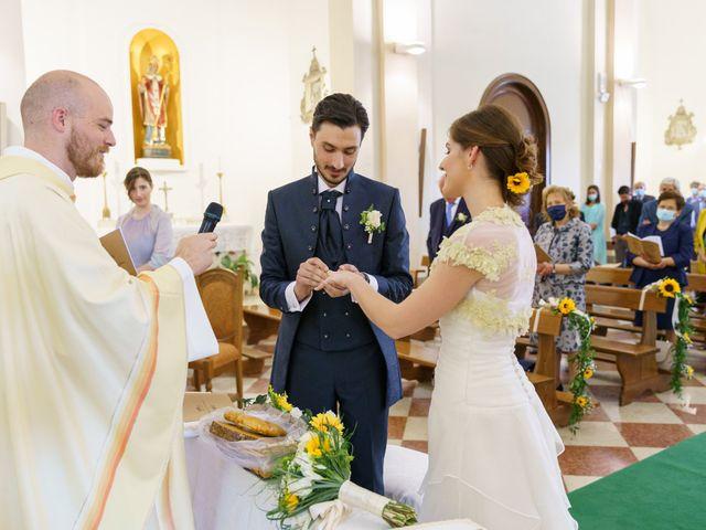 Il matrimonio di Andrea Valerio e Silvia a Due Carrare, Padova 34