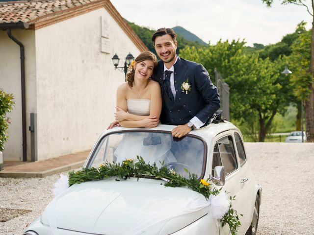 Il matrimonio di Andrea Valerio e Silvia a Due Carrare, Padova 54