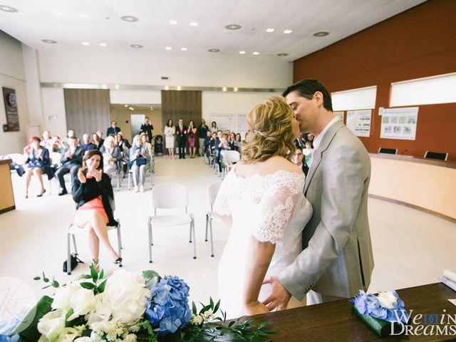 Il matrimonio di Dafne e Diego a Truccazzano, Milano 33