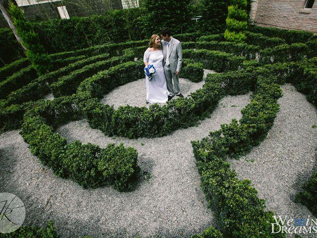 Il matrimonio di Dafne e Diego a Truccazzano, Milano 34