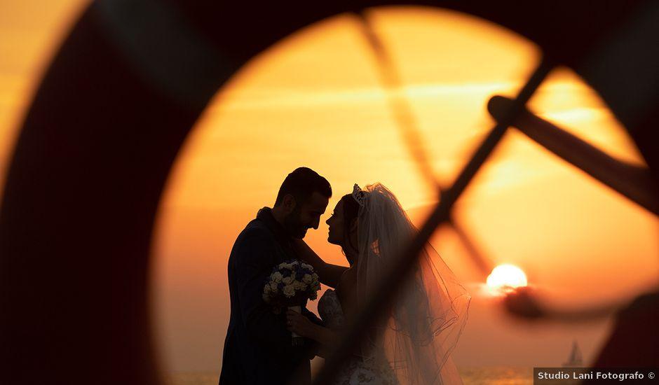 Il matrimonio di Erik e Valentina a Viareggio, Lucca