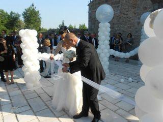 Le nozze di Antonella e Leone