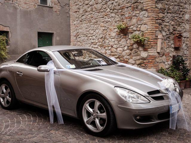 Il matrimonio di Fabrizio e Pamela a Orvieto, Terni 2