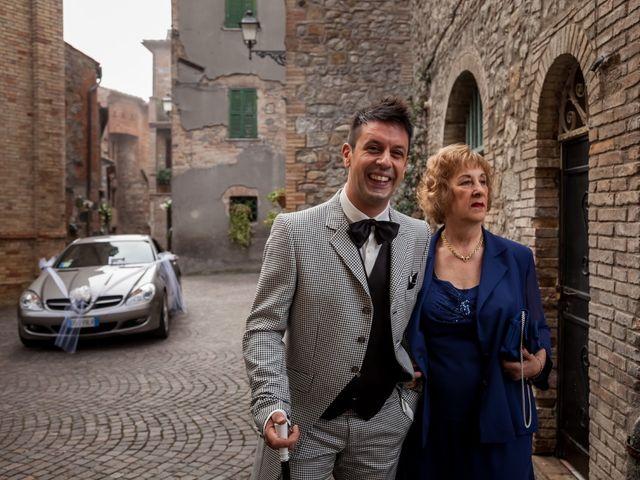 Il matrimonio di Fabrizio e Pamela a Orvieto, Terni 6
