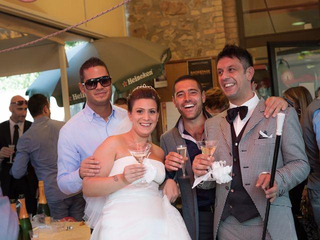 Il matrimonio di Fabrizio e Pamela a Orvieto, Terni 28