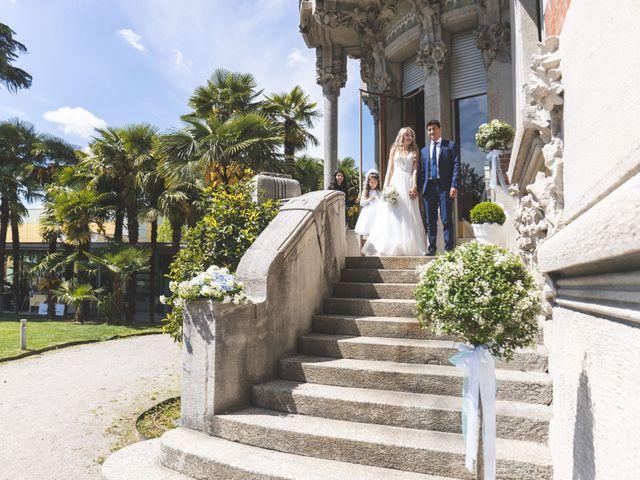 Il matrimonio di Davide e Lisa a Cernobbio, Como 37