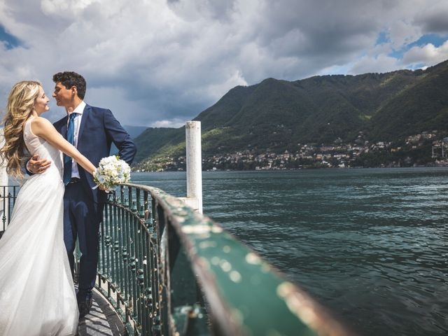 Il matrimonio di Davide e Lisa a Cernobbio, Como 1
