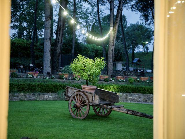 Il matrimonio di Samanta e Riccardo a Castellina in Chianti, Siena 9
