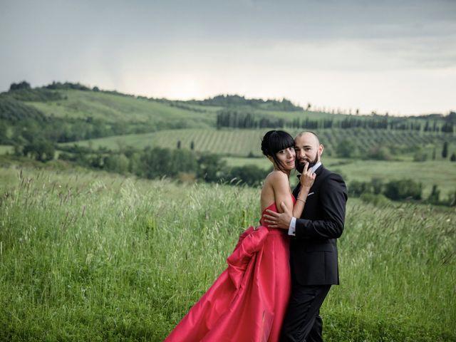 Il matrimonio di Samanta e Riccardo a Castellina in Chianti, Siena 10