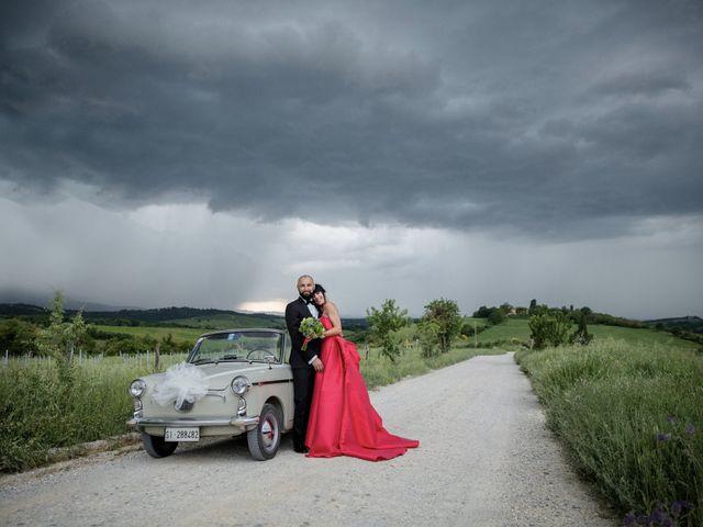 Il matrimonio di Samanta e Riccardo a Castellina in Chianti, Siena 11