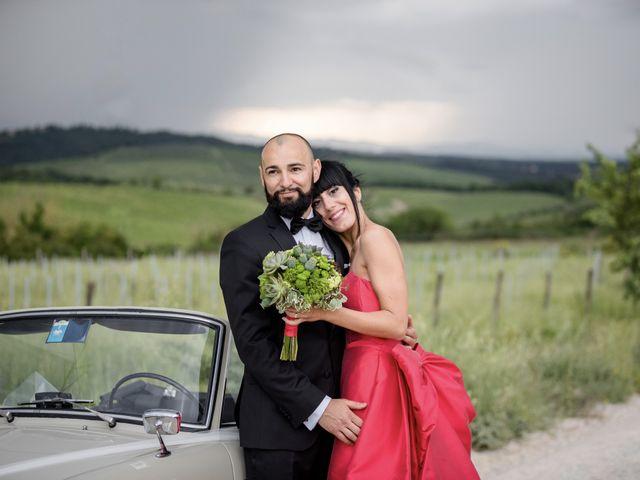Il matrimonio di Samanta e Riccardo a Castellina in Chianti, Siena 12