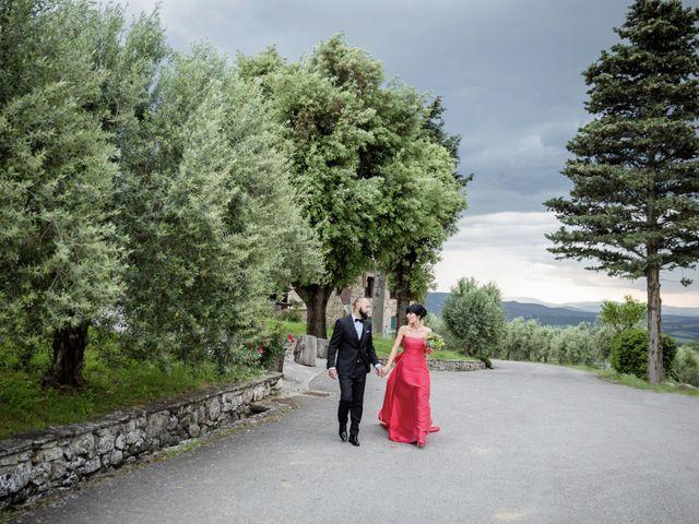 Il matrimonio di Samanta e Riccardo a Castellina in Chianti, Siena 13