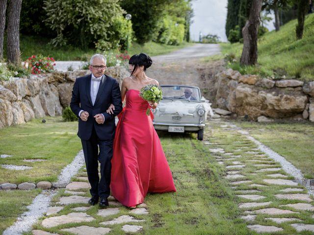 Il matrimonio di Samanta e Riccardo a Castellina in Chianti, Siena 24