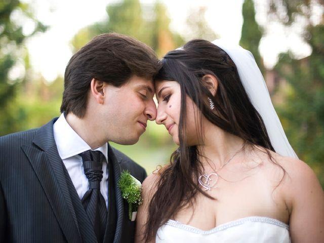 le nozze di Lucrezia e Mattia