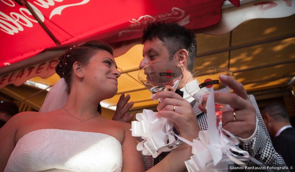 Il matrimonio di Fabrizio e Pamela a Orvieto, Terni