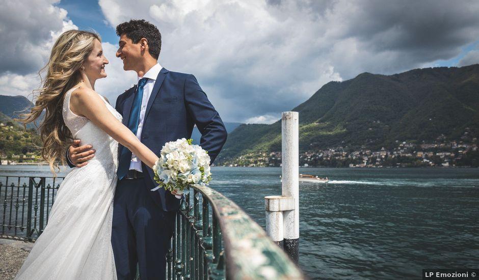 Il matrimonio di Davide e Lisa a Cernobbio, Como