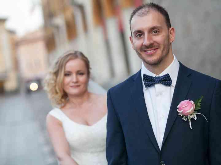 le nozze di Natalia e Gabriele