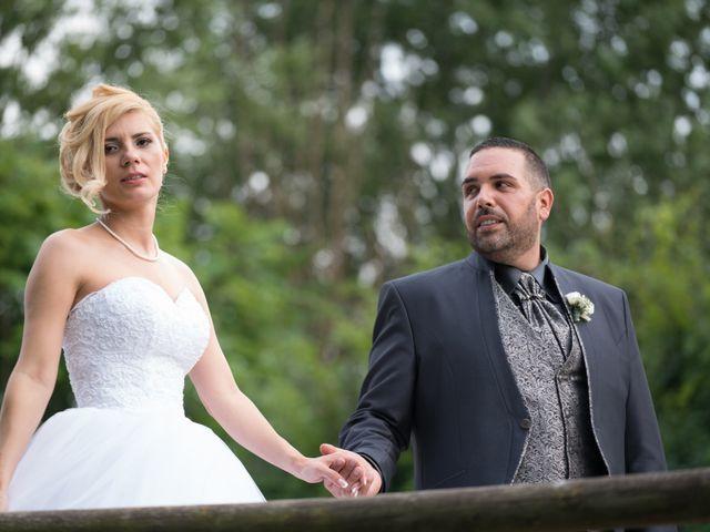 Le nozze di Mirela e Fabio