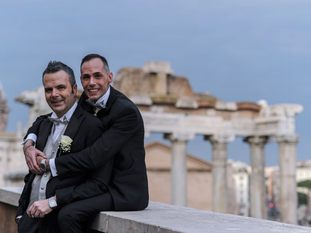 Il matrimonio di Gabriele e Federico a Roma, Roma 8