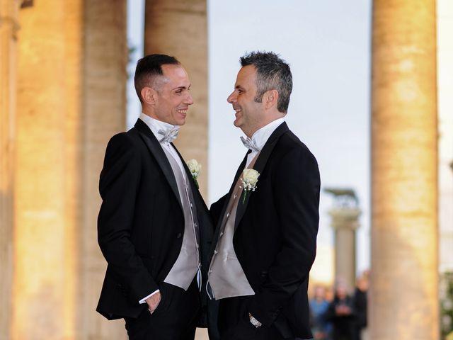 Il matrimonio di Gabriele e Federico a Roma, Roma 9