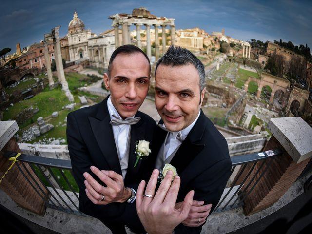 Il matrimonio di Gabriele e Federico a Roma, Roma 12