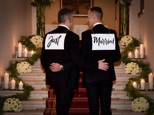 Il matrimonio di Gabriele e Federico a Roma, Roma 1