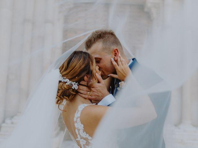 Il matrimonio di Luca e Sara a Sulmona, L'Aquila 2