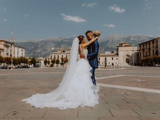 Il matrimonio di Luca e Sara a Sulmona, L'Aquila 10