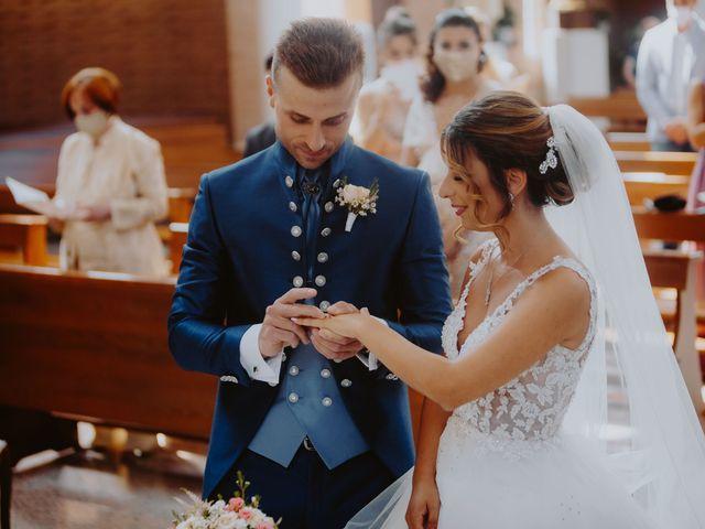 Il matrimonio di Luca e Sara a Sulmona, L'Aquila 77