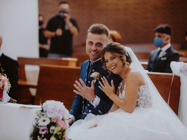Il matrimonio di Luca e Sara a Sulmona, L'Aquila 78