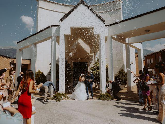 Il matrimonio di Luca e Sara a Sulmona, L'Aquila 79