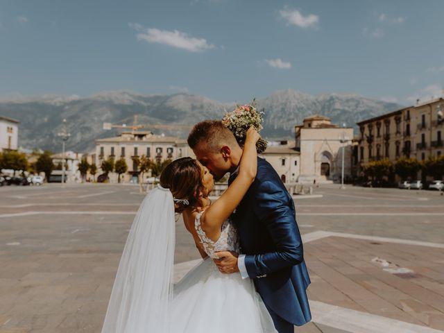 Il matrimonio di Luca e Sara a Sulmona, L'Aquila 80