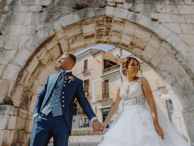 Il matrimonio di Luca e Sara a Sulmona, L'Aquila 82