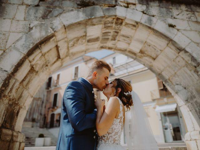 Il matrimonio di Luca e Sara a Sulmona, L'Aquila 83