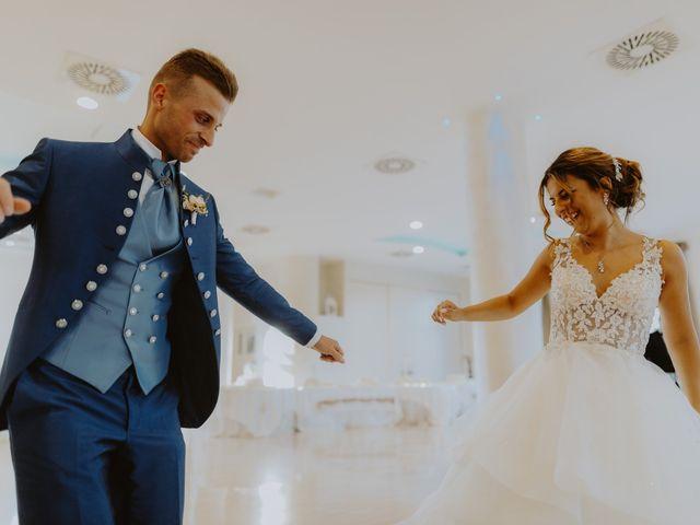 Il matrimonio di Luca e Sara a Sulmona, L'Aquila 104
