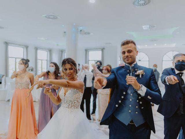 Il matrimonio di Luca e Sara a Sulmona, L'Aquila 109