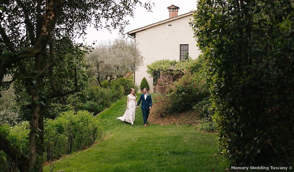 Il matrimonio di Mark e Sally a Firenze, Firenze