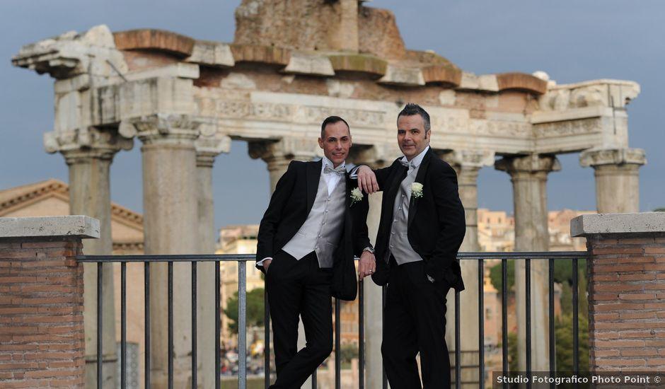 Il matrimonio di Gabriele e Federico a Roma, Roma