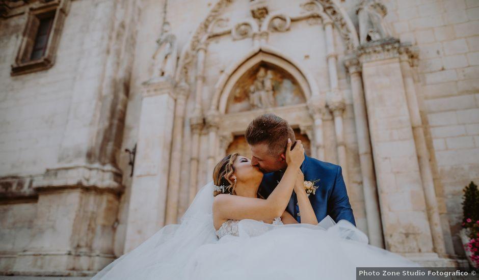 Il matrimonio di Luca e Sara a Sulmona, L'Aquila