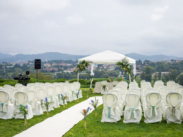 Il matrimonio di Ilario e Deborah a La Valletta Brianza, Lecco 26