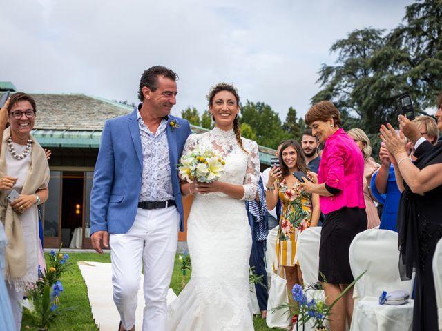 Il matrimonio di Ilario e Deborah a La Valletta Brianza, Lecco 44