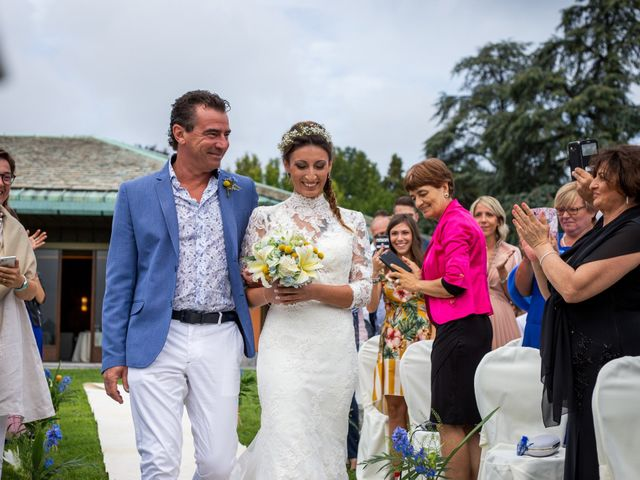 Il matrimonio di Ilario e Deborah a La Valletta Brianza, Lecco 45