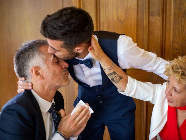 Il matrimonio di Ilario e Deborah a La Valletta Brianza, Lecco 85
