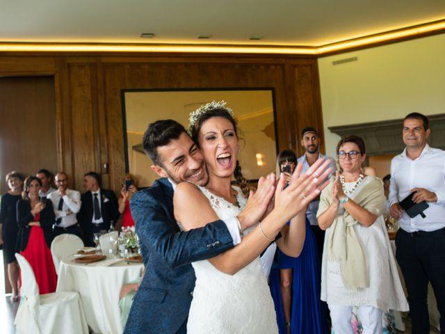 Il matrimonio di Ilario e Deborah a La Valletta Brianza, Lecco 98