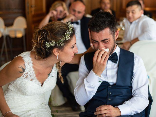 Il matrimonio di Ilario e Deborah a La Valletta Brianza, Lecco 114