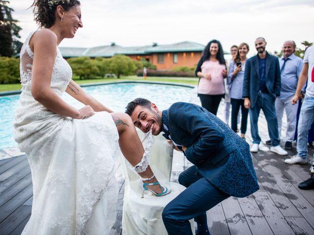 Il matrimonio di Ilario e Deborah a La Valletta Brianza, Lecco 127